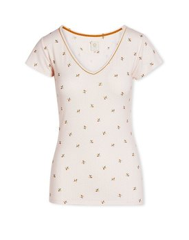 Pip Studio Toy Short Sleeve Bisous Light Pink S