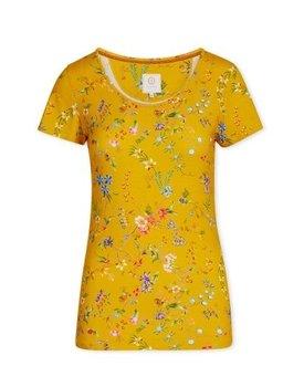 Pip Studio Tilly Short Sleeve Petites Fleurs Yellow XL