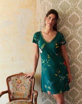 Pip Studio Djoy Night Dress Fleur Grandeur Green XXL