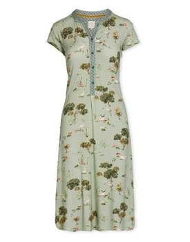 Pip Studio Dalia Night Dress Swan Lake Green L