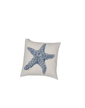 David Fussenegger kussenhoes Nova starfish 50x50 royal blue
