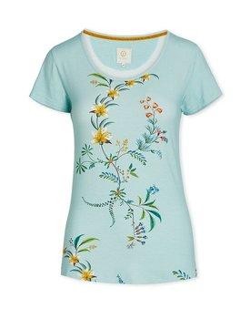 Pip Studio Tilly Short Sleeve Grand Fleur Blue M
