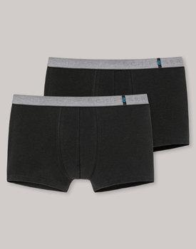 Schiesser boxershort 155587 schwarz 2pack