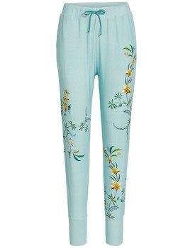Pip Studio Bobien Long Trousers Grand Fleur Blue XXL