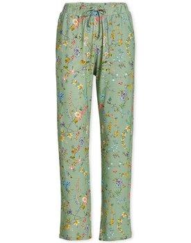 Pip Studio Babbet Long Trousers Petites Fleurs Green XL