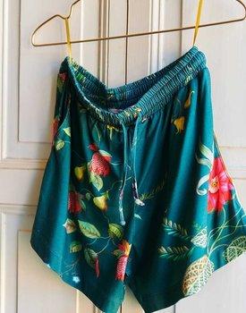 Pip Studio Bob Short Trousers Fleur Grandeur Green M