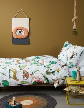 Beddinghouse Kids Crazy Jungle Dekbedovertrek - Multi 140 x 200/220