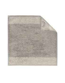 Cawö keukendoek Two-tone 50x50 graphit