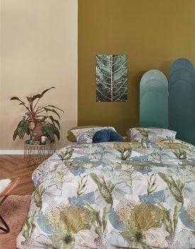 At Home by BeddingHouse Hidden Dekbedovertrek - Groen 140x200/220