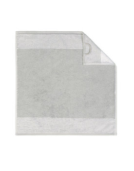 Cawö keukendoek Two-tone 50x50 platin