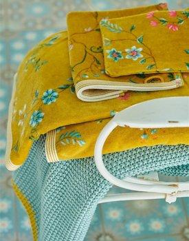 Pip Studio Les Fleurs Yellow 70x140