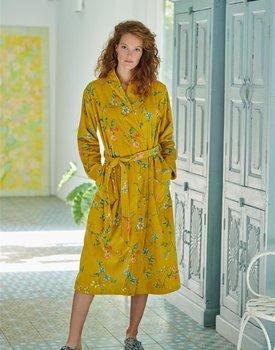 Pip Studio Les Fleurs Bathrobe Yellow L