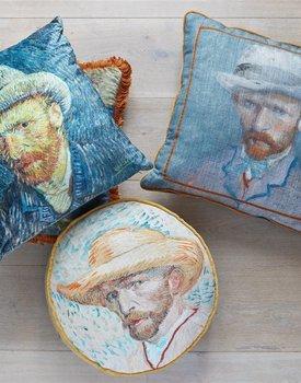 Beddinghouse x Van Gogh Museum Self Portrait Vincent Blue sierkussen