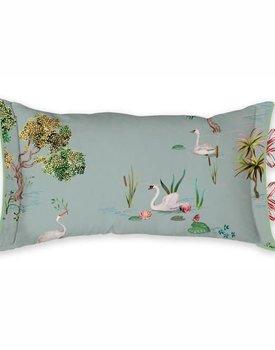 Pip studio sierkussen Little swan grey 35x60