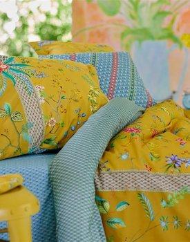 Pip Studio Petites Fleurs Dekbedovertrek - Geel 240x200/220