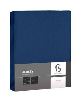 Bonnanotte Jersey Dubbel Stretch Hoeslaken Donkerblauw 90x220