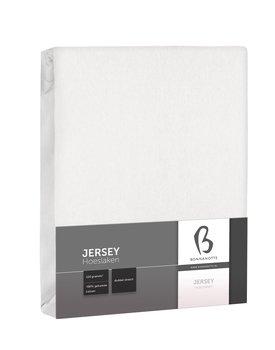 Bonnanotte Jersey Dubbel Stretch Hoeslaken Wit 160x200