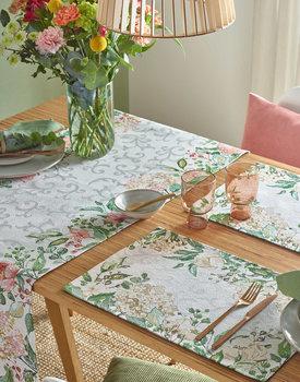 Sander tafelloper Love Flowers 49x143