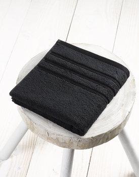 De Witte Lietaer Dolce Badhanddoek Zwart 60x110