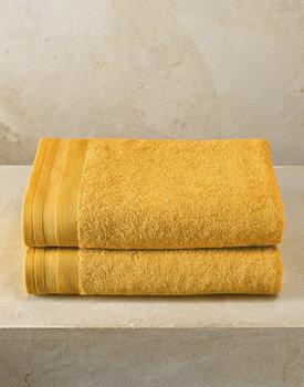De Witte Lietaer badhanddoek Excellence 70x140 golden yellow