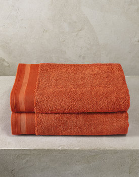 De Witte Lietaer badhanddoek Excellence 70x140 burnt orange