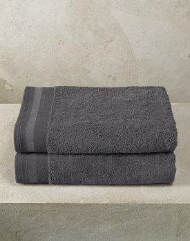 De Witte Lietaer badhanddoek Excellence 70x140 dark grey
