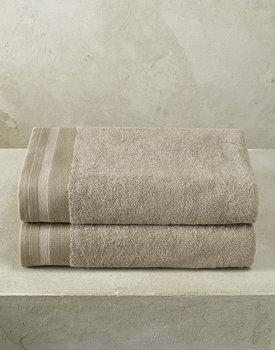 De Witte Lietaer badhanddoek Excellence 70x140 taupe