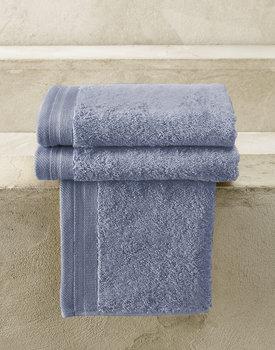 De Witte Lietaer gastendoek Excellence 40x60 stone blue