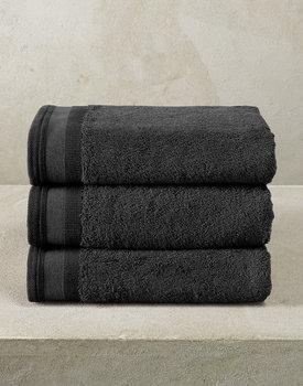 De Witte Lietaer handdoek Excellence 50x100 black
