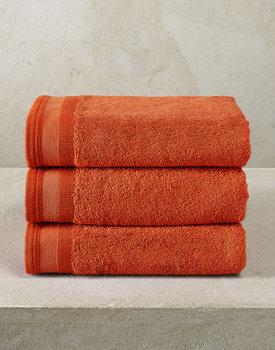 De Witte Lietaer handdoek Excellence 50x100 burnt orange