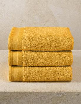 De Witte Lietaer handdoek Excellence 50x100 golden yellow