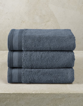 De Witte Lietaer handdoek Excellence 50x100 indigo