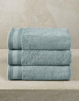 De Witte Lietaer handdoek Excellence 50x100 oxyde