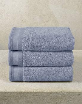 De Witte Lietaer handdoek Excellence 50x100 stone blue