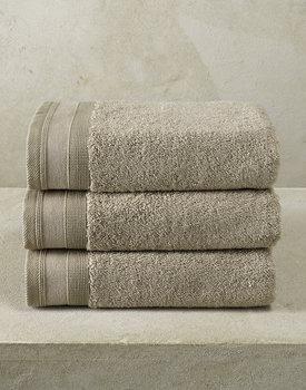 De Witte Lietaer handdoek Excellence 50x100 taupe
