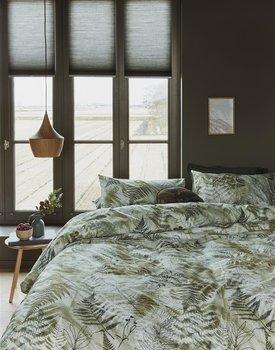 Beddinghouse Tatum Dekbedovertrek  Groen 200 x 200/220 cm + 2x 60 x 70 cm