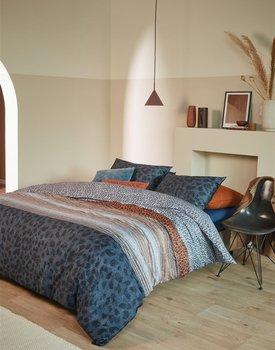 Beddinghouse Feis Dekbedovertrek  Blauw 240 x 200/220 cm + 2x 60 x 70 cm