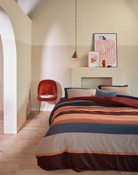 Beddinghouse Audrey Dekbedovertrek  Rood 240 x 200/220 cm + 2x 60 x 70 cm