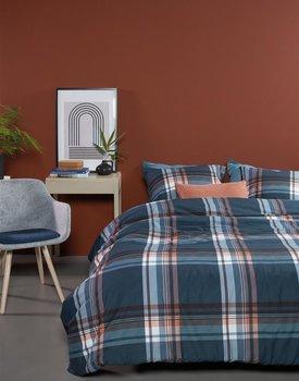 Beddinghouse Duke Dekbedovertrek  Blauw 240 x 200/220 cm + 2x 60 x 70 cm