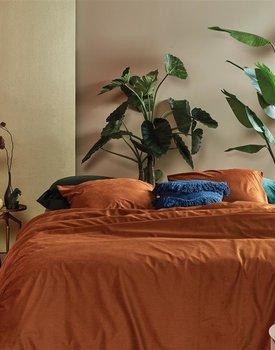 At Home by BeddingHouse Cosy Corduroy Dekbedovertrek  Terra 240 x 200/220 cm
