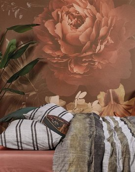 At Home by BeddingHouse Brave Dekbedovertrek  Zwart Wit 140 x 200/220 cm