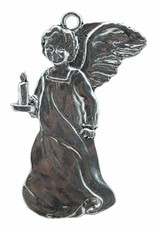 DTR Hanging Christmas ornament angel with candle