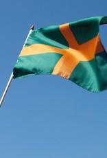 Vierdaagse vlag op stok