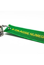 DTR Sleutelhanger schoentje Vierdaagse - groen embleem