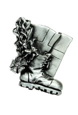 DTR Brooche walking shoe with flag - mat