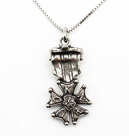 DTR Four Days Marches medal pendant with necklace