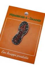 DTR Badge  shoe sole 4Daagse
