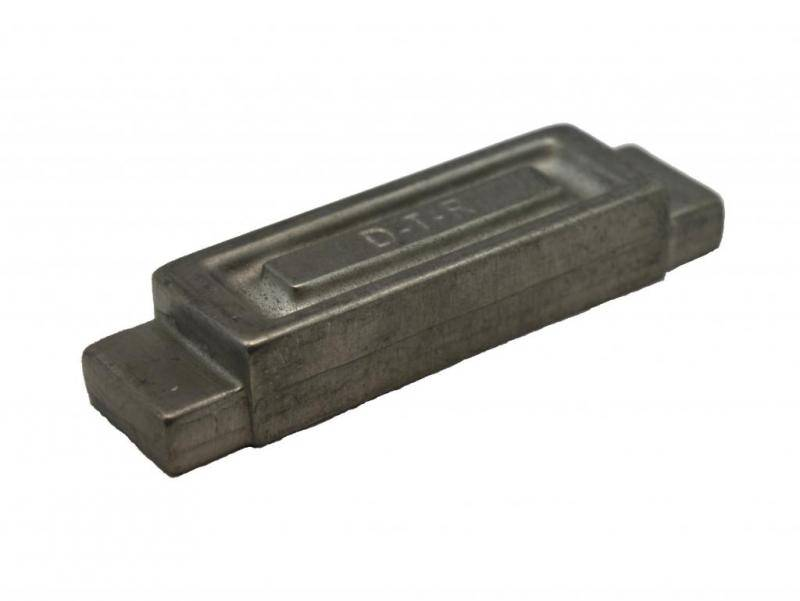 DTR Pewter cube 75 gr