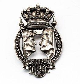 DTR Coronation pin