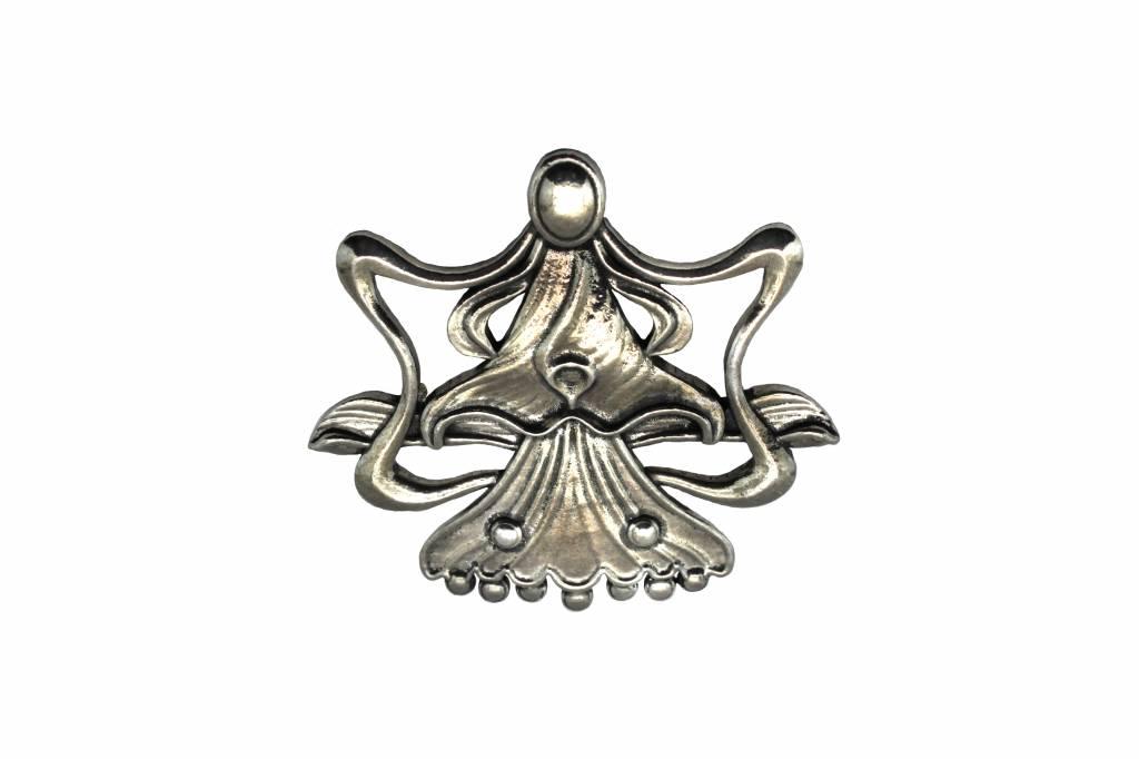 DTR Broche Art Nouveau engel